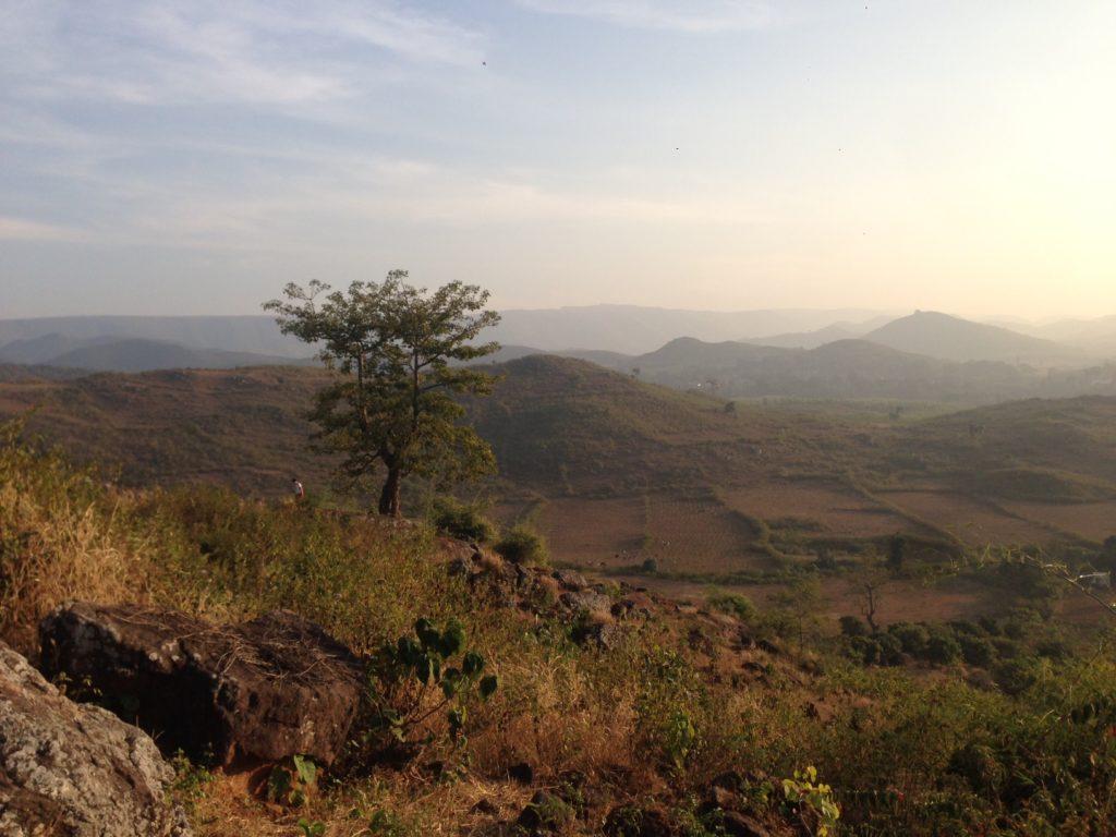 Холмы вокруг Ситхартха виллидж
